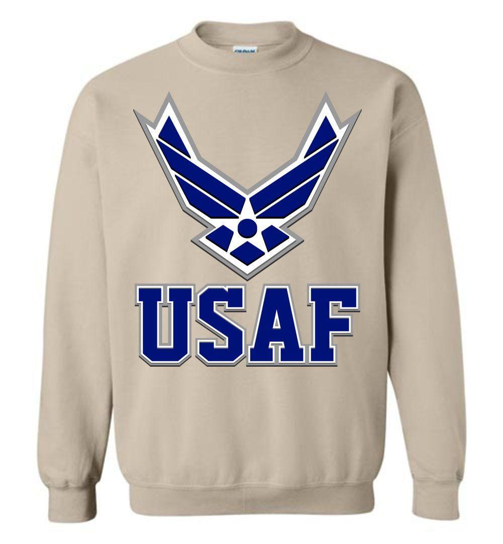 USAF Air Force Insignia Sweatshirt