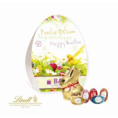 Image of easter egg box with lindt bunny and mini eggs easter image of easter egg box with lindt bunny and mini eggs negle Image collections