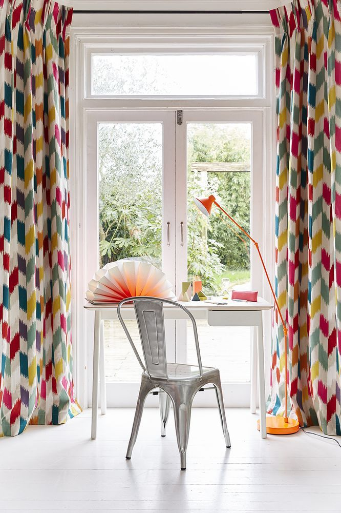 Marianne Shillingford, creative director of Dulux, says: Colours can generally be categorised as either 'clean and bright' or 'muted and atmospheric', and we can use these moods of colour to alter or enhance the way we feel in a room. Clean and bright shades are fresh, uplifting and add a vibrant, positive energy to a space. (Photo: Mark Scott). Find out why colour in your home is good for you at housebeautiful.co.uk