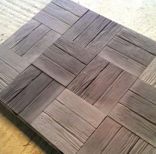 Concrete Paving Slabs Wooden Effect Tile Patio Pack Ebay