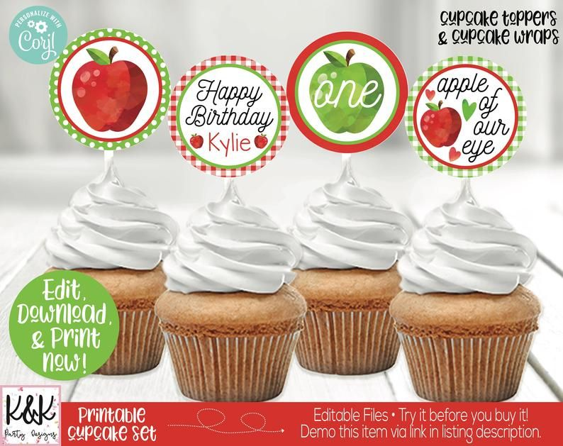 Apple Birthday Party Invitation & Decorations, Girls Birthday Party Idea, Apple Party Printable, Apple Birthday Party Decorations, Apple Orchard Party   #Apple #AppleOrchard #BirthdayParty #Invitation #PartyIdeas #GirlsBirthday #1stBirthday #FirstBirthday #AppleParty #DIY #PartyTheme #PartyDecorations #BirthdayDecorations #Decorations