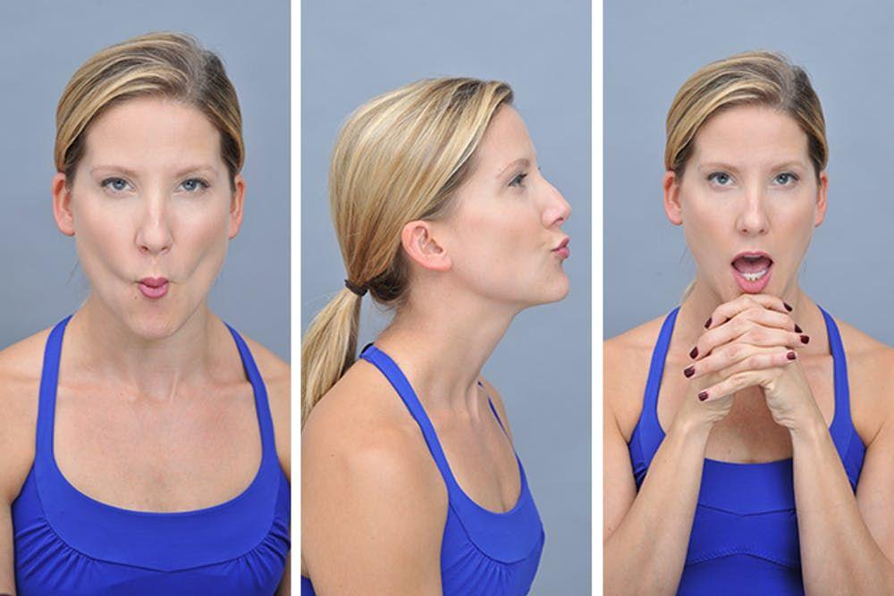 Упражнение чтобы похудело лицо