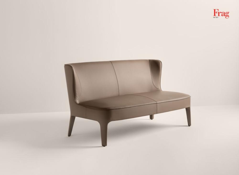 Public sofa Frag Sedie, Poltrone e Divani in pelle in