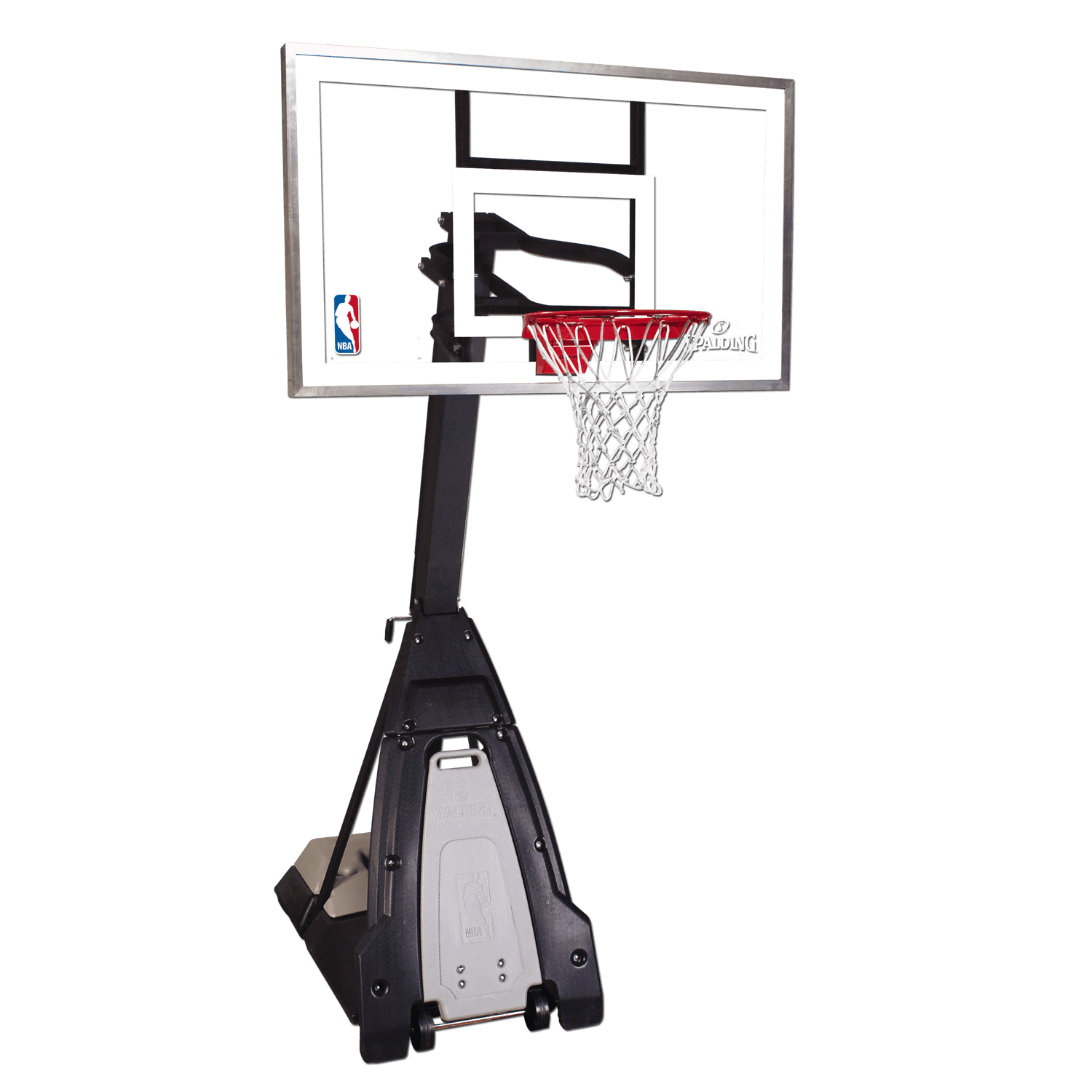 spalding the beast portable basketball hoop portable basketball