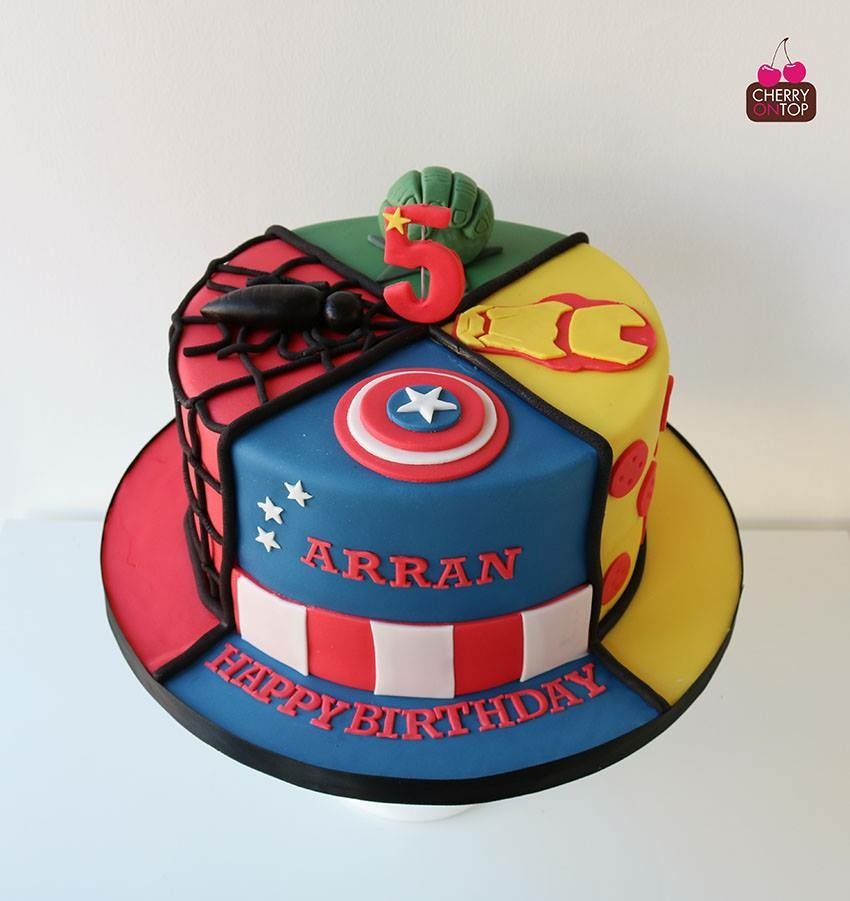 Awesome Marvel Avengers Birthday Cake Avengers Birthday Cakes Avengers Funny Birthday Cards Online Alyptdamsfinfo