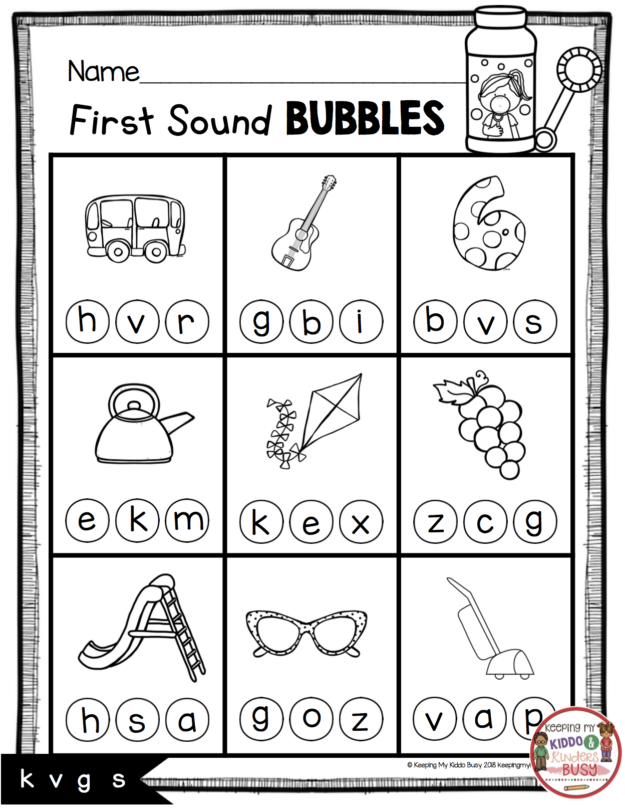 Teaching First Sounds Complete Unit With Freebies Keeping My Kiddo Busy Phonics Games Kindergarten Phonics Kindergarten Kindergarten Phonics Worksheets [ 1614 x 1248 Pixel ]