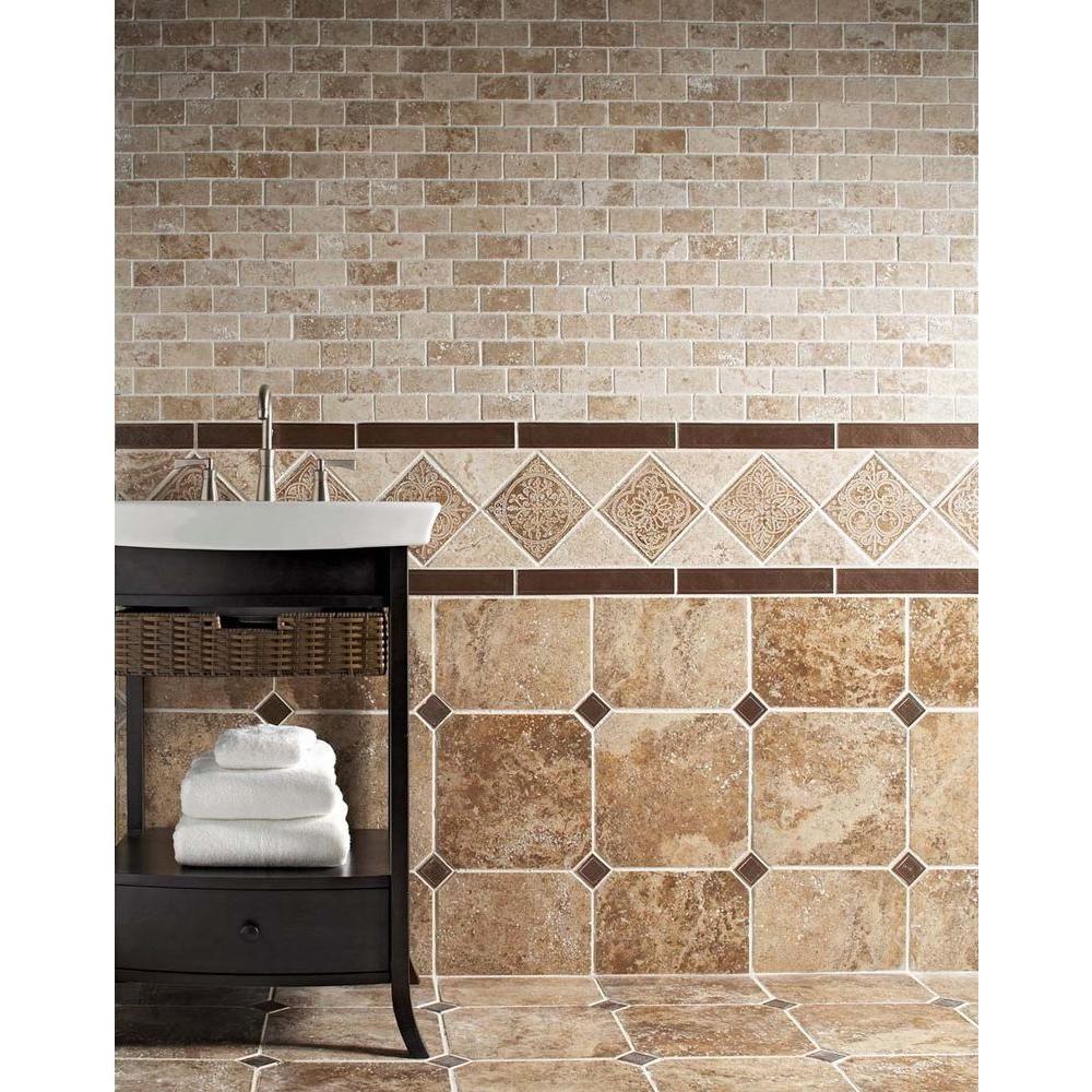 MARAZZI Montagna Belluno 12 in. x 12 in. Porcelain Rustic Floor and ...