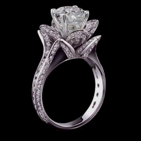 Unique Blue Diamond Engagement Rings Wedding And Bridal Inspiration