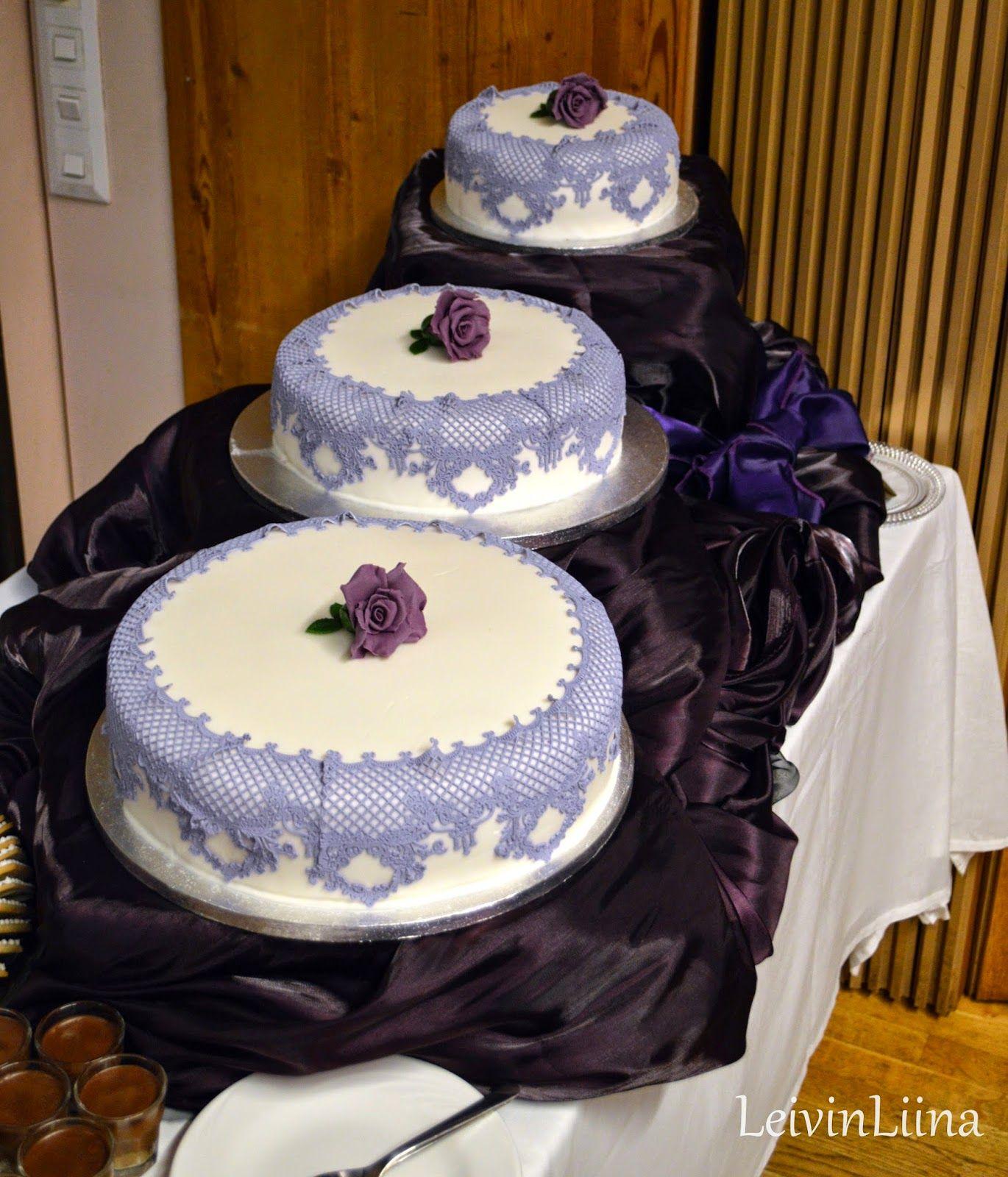 Purple Lace Cake by LeivinLiina