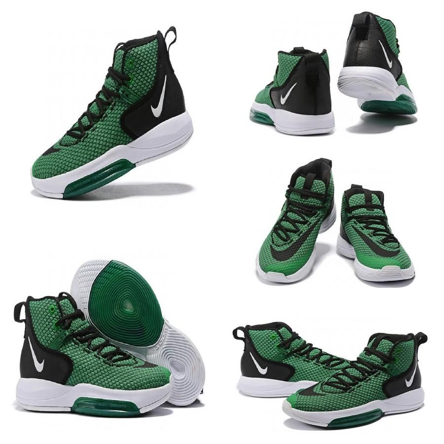 2019 Limited Promotion Nike Zoom Rise 2019 Green Black White For Sale Nike Nike Zoom Sneaker Head