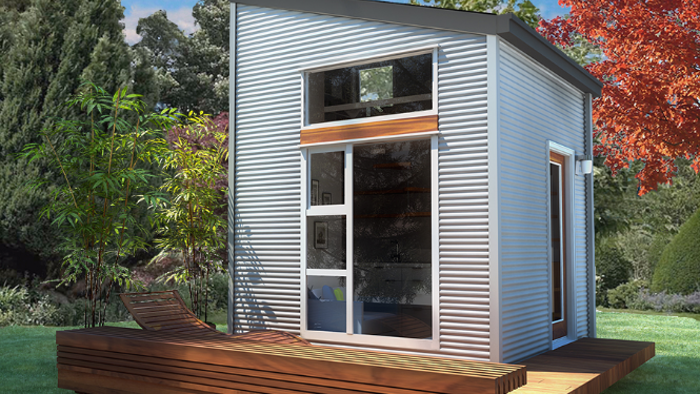 Flat-pack NOMAD Micro Home promises inexpensive off-grid
