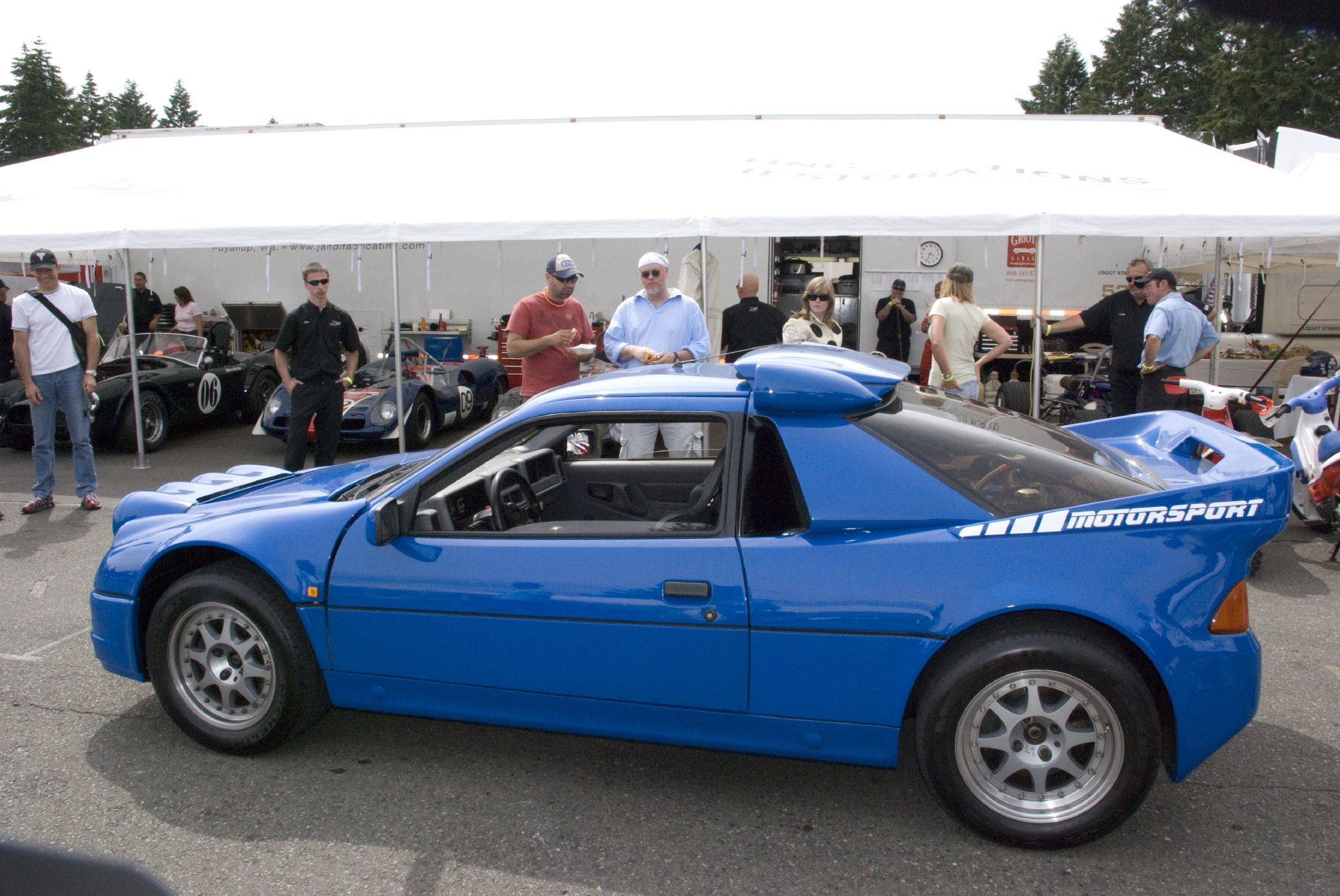 Ford Rs200 Road Version