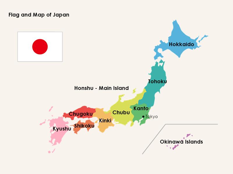 Facts Of Japan Flag And Map Of Japan Japan Japan Flag Intercultural Communication