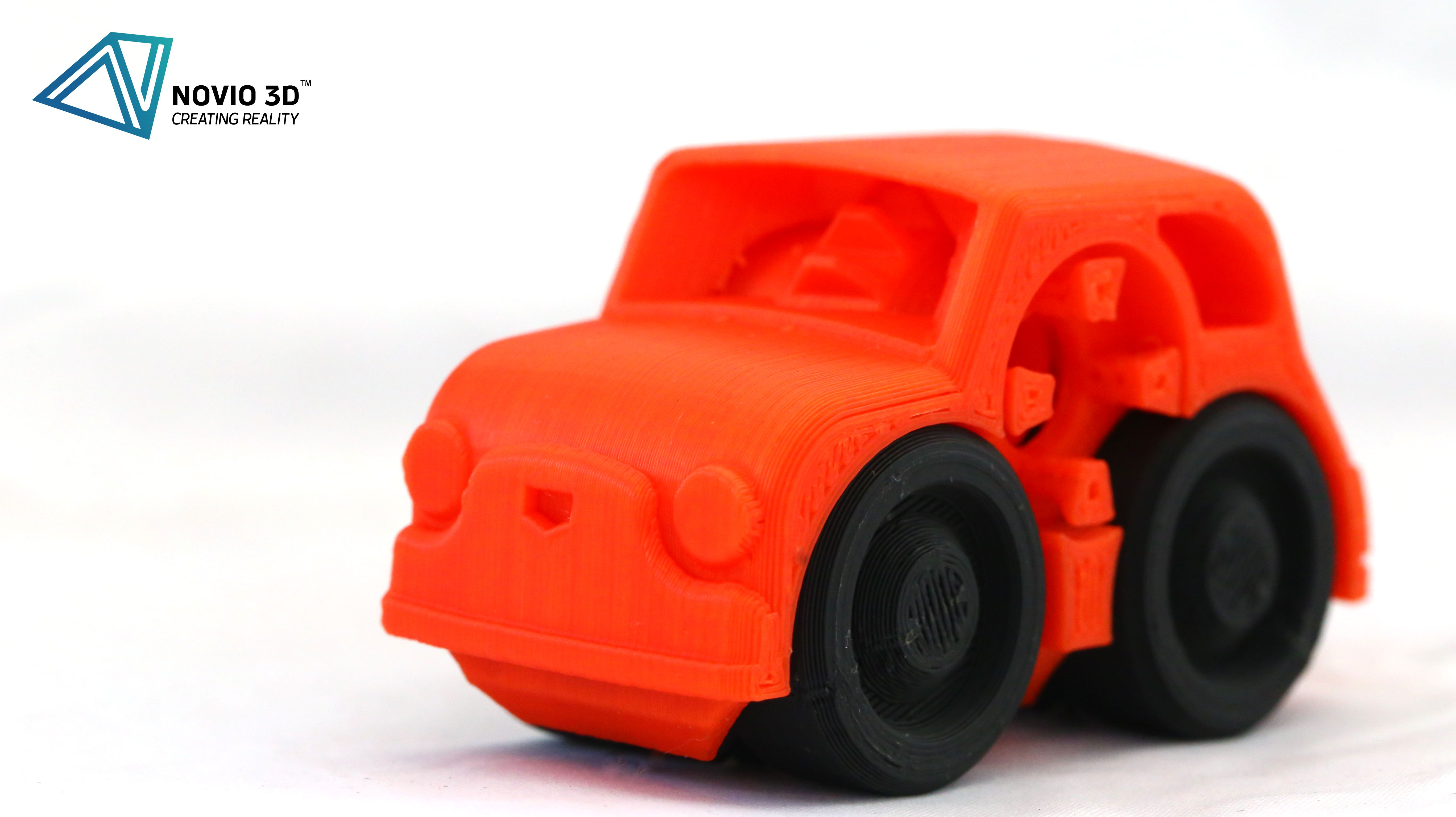 3d Printed Toy Car With Moving Wheels 3dprintedcar 3dprintedtoy