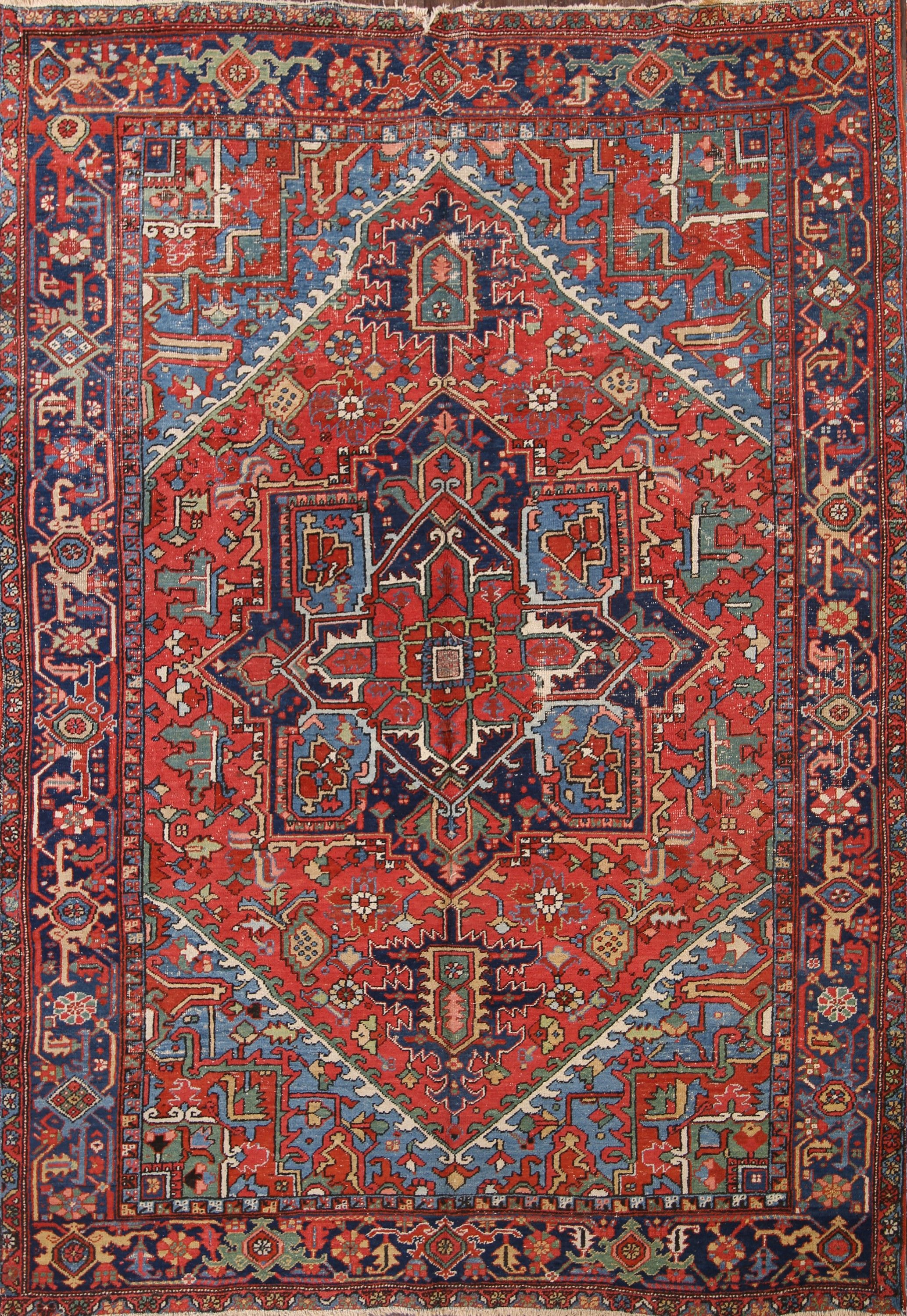7x10 Heriz Serapi Persian Area Rug Online Unlimited Source Of Oriental And Antique Rugs