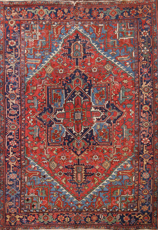 7x10 Heriz Serapi Persian Area Rug Online Unlimited Source Of Oriental