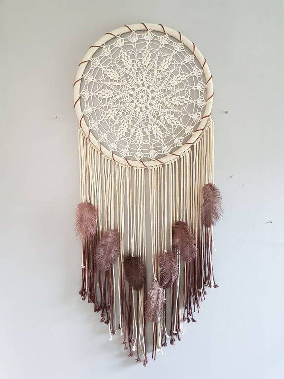 Dream Catcher Wall Hanging Large Dream Catcher Feather