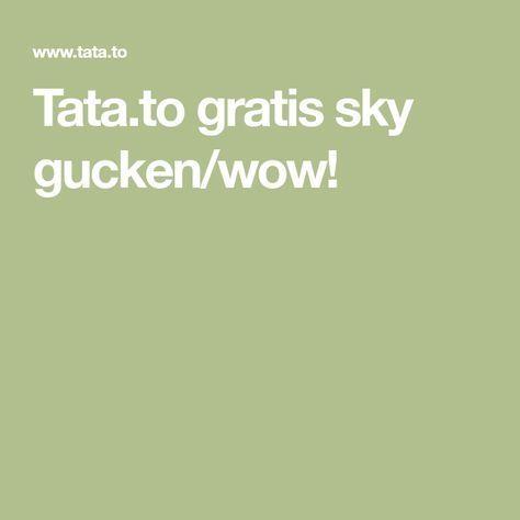 Sky Online Gratis Gucken