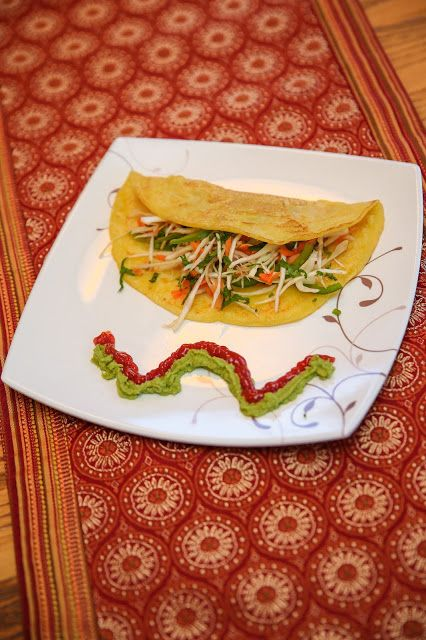 Herbs, Spices and Tradition: YELLOW LENTIL CREPE