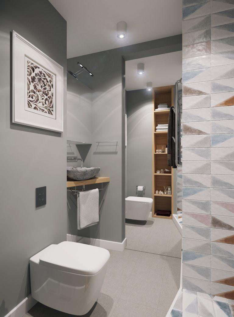 badkamers voorbeelden klein modern badkamer ontwerp door