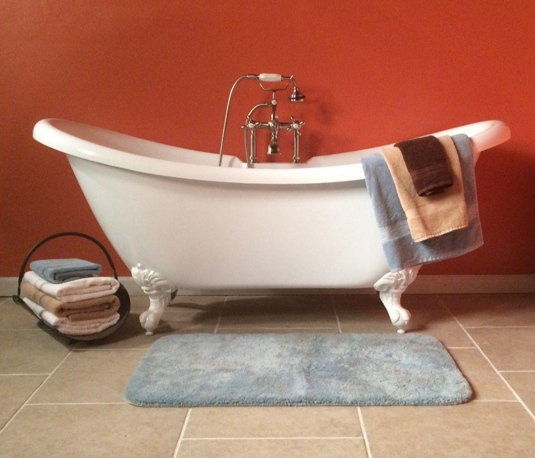 acrylic clawfoot tub package. 68  Acrylic Clawfoot Double Slipper Tub Harrison Master Bath