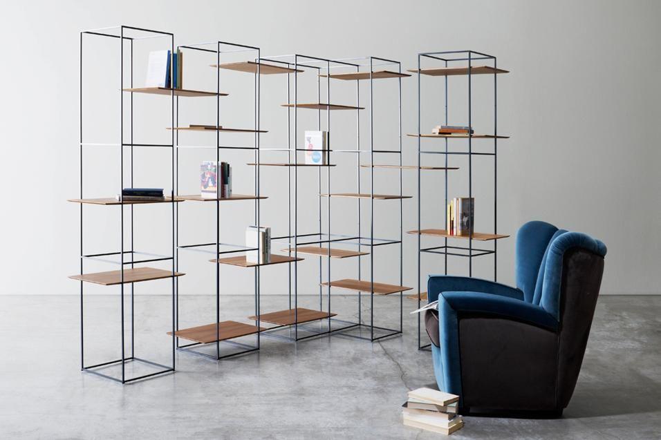 Scaffali Ufficio Design : Librerie autoportanti librerie salotto e fabbro