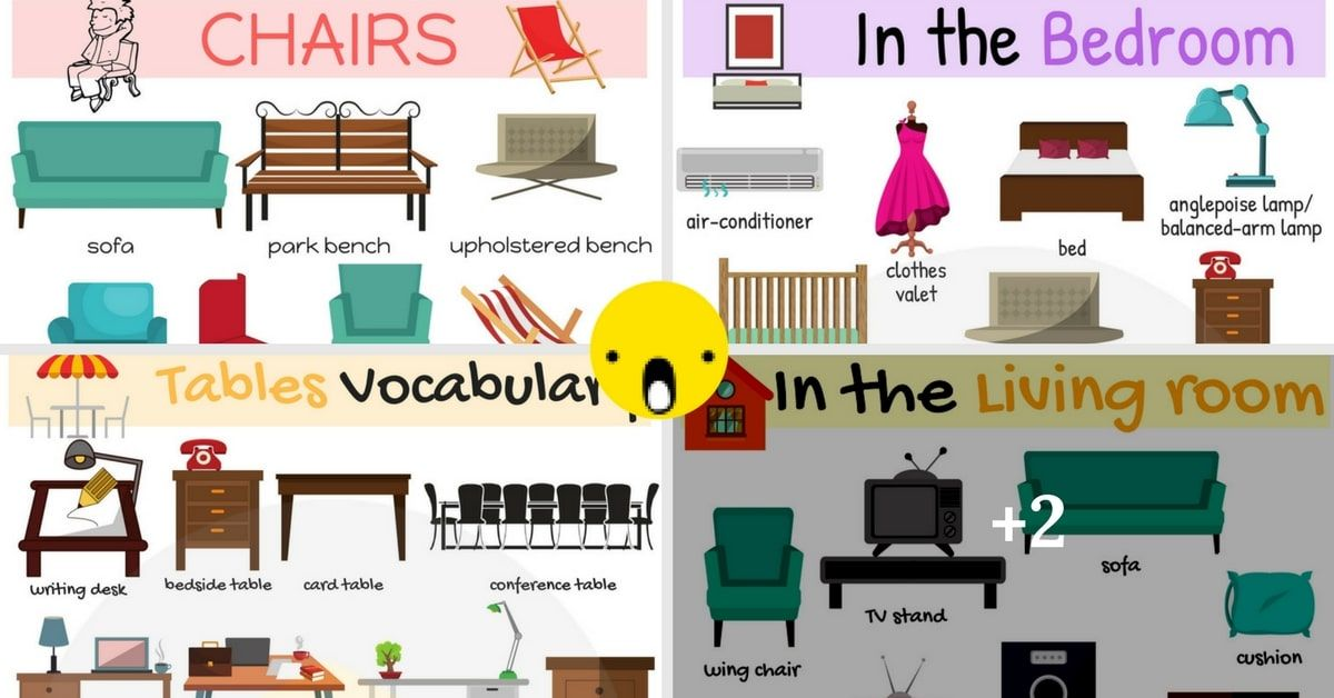 Types Of Furniture Useful Furniture Names With Pictures With