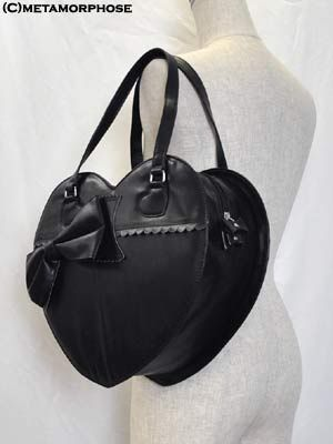 metamorphose  CL/Heart-shaped Ribbon Bag (Solid Color)