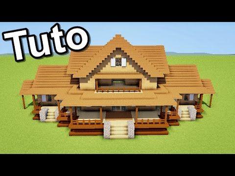 MINECRAFT TUTO MAISON MODERNE !! ) - YouTube Merncreft - Idee Facade Maison Moderne