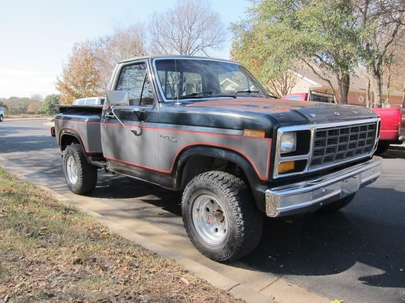 1981 Ford F150 >> 1981 Ford F150 Flareside 4x4 Vehicles American Classic