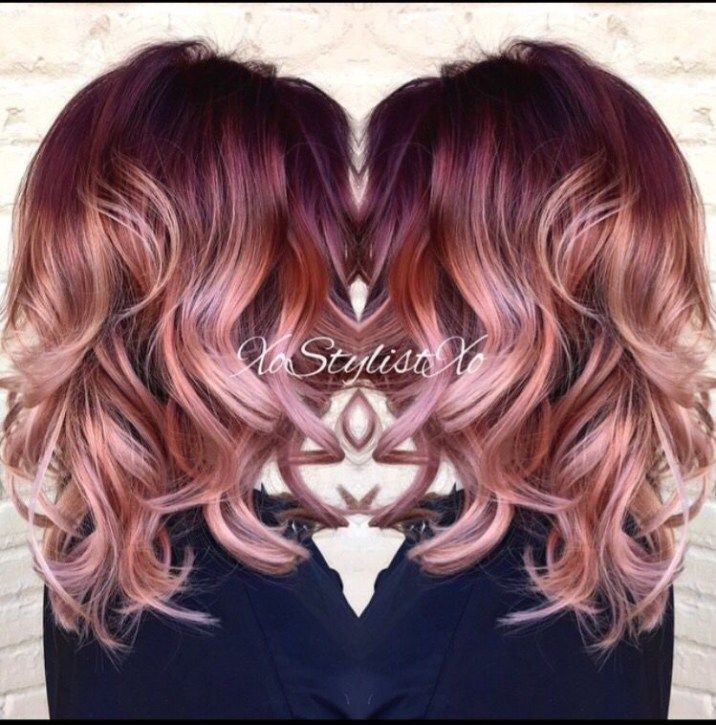 10 stunningly beautiful Rose Gold Hair styles (pin now ...
