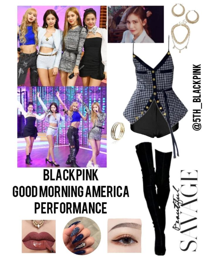 wonderful blackpink performance outfits songs