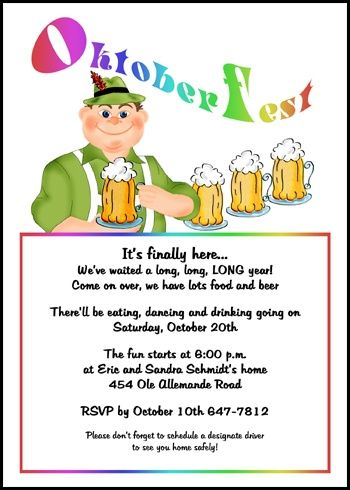 One happy oktoberfest party invitation cards discounted to 99 cents one happy oktoberfest party invitation cards discounted to 99 cents each for limited time only stopboris Choice Image