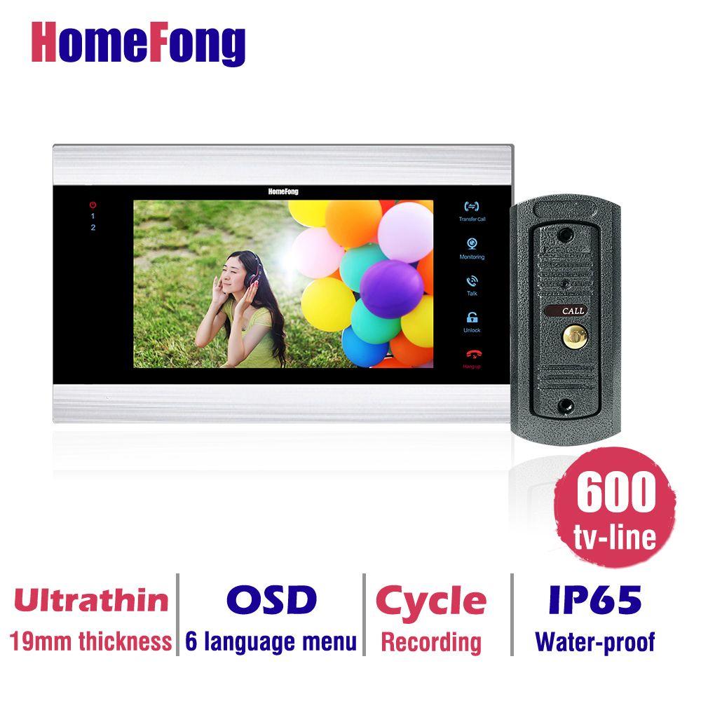 homefong kaufen monitor erhalten türklingel 7 zoll farbe lcd video
