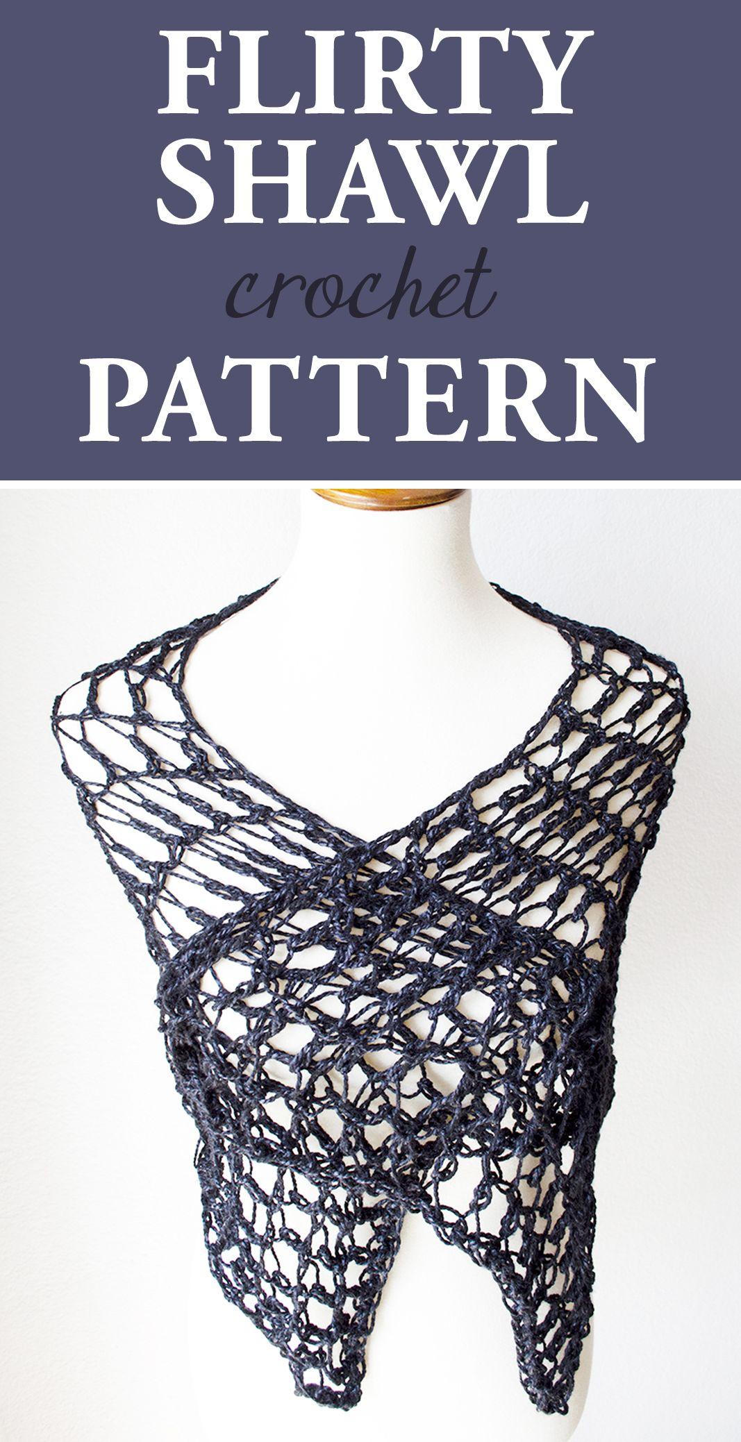 Flirty Shawl Crochet Pattern • Simply Collectible | CROCHET 2 ...