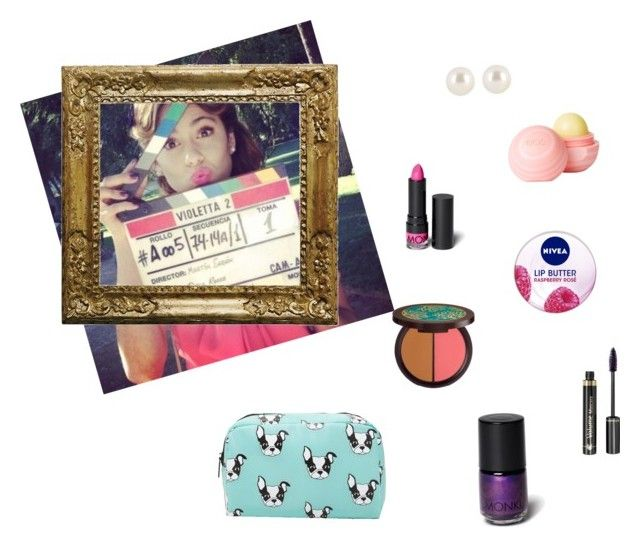 """""""violetta beuty"""" by vilovi ❤ liked on Polyvore featuring beauty, Henri Bendel, dELiA*s, Monki, Nivea, tarte, Dr.Hauschka and Forever 21"""