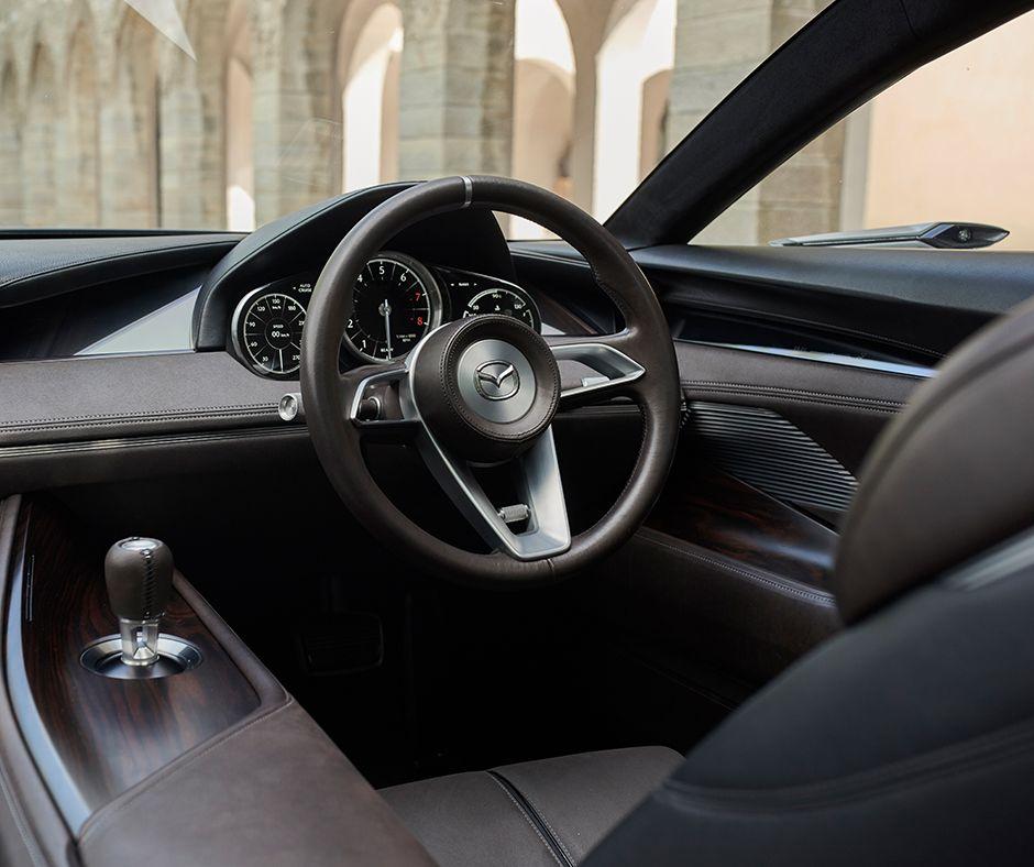 """Вдъхновен от Mazda VISION COUPE е """"помалко или повече"""