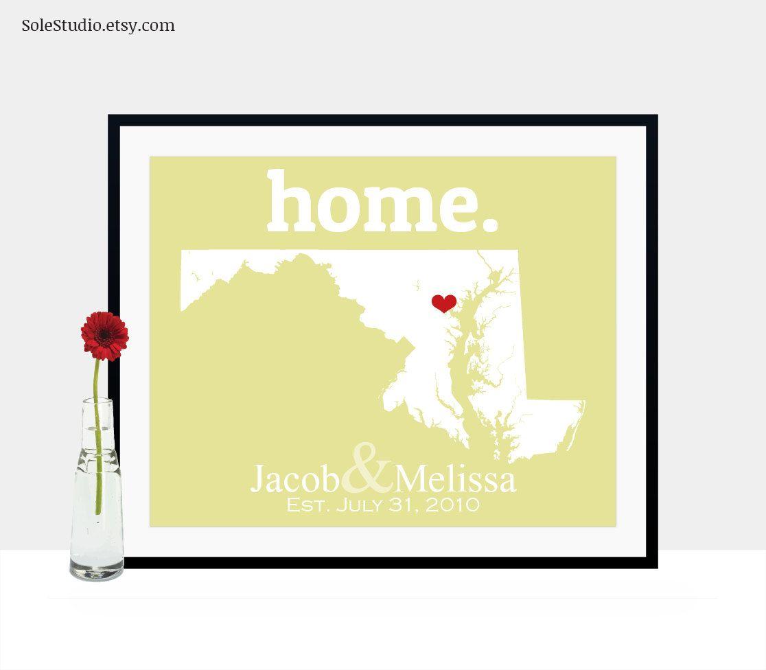 Baltimore Home Decor Art Print, Maryland Home Decor Signs ...