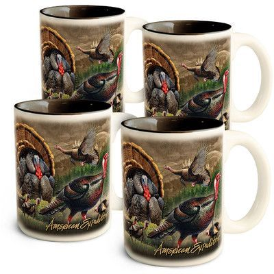 American Expedition Turkey Collage Coffee Mug