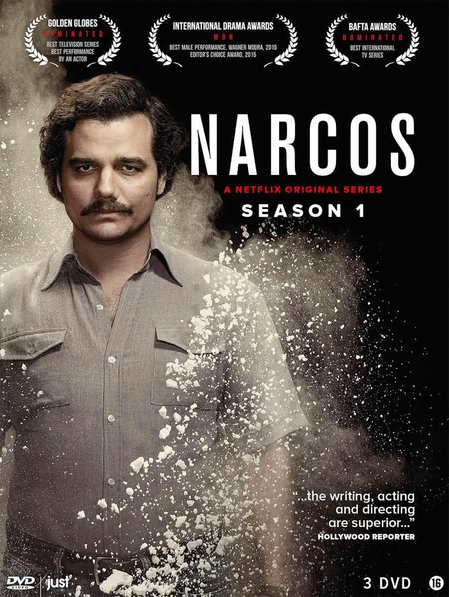 Narcos Season 1 Netflix 2015 Books Series Finished