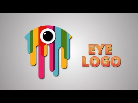 1a631ffbf COLORFUL EYE LOGO Illustrator Tutorial - YouTube | Design/Learn ...