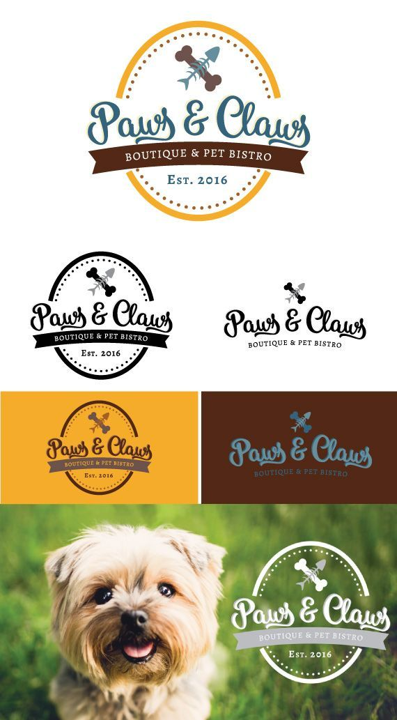This Vintage Inspired Logo Will Give Your Pet Business A