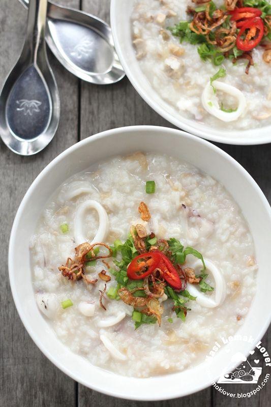 Cara Buat Bubur Nasi : bubur, Bubur, Lambuk, 马来斋戒月肉粥, Indian, Recipes,, Cooking, Asian, Recipes