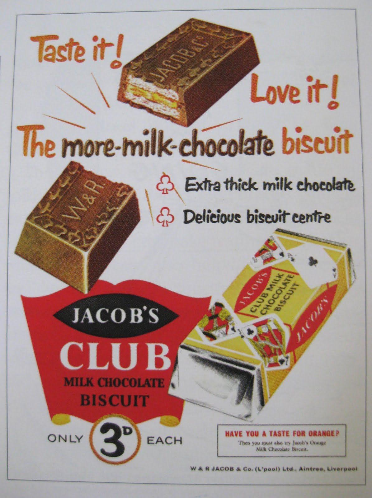 Vintage Food Advertising poster  A4 RE PRINT Cadbury/'s Chocolate Biscuits