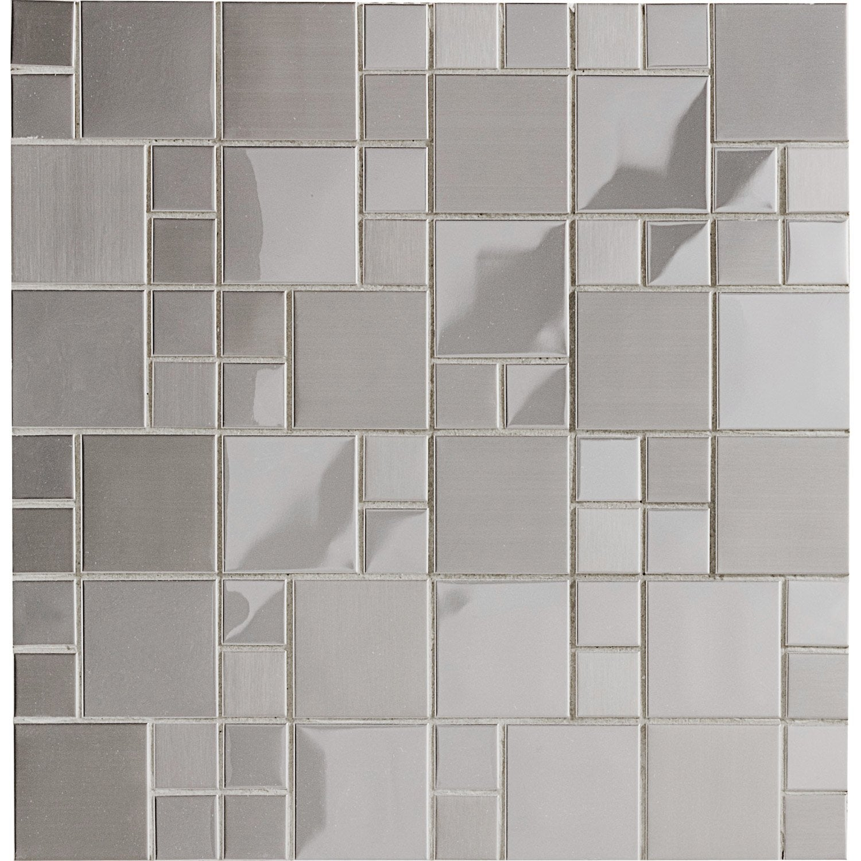 Mosaique Mur Cubic Inox Avec Images Inox Mosaique Mur