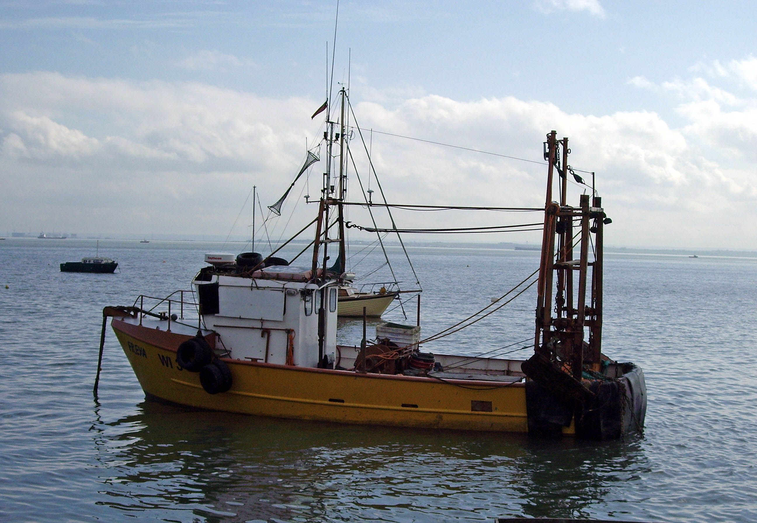 Old Fashioned Trawler