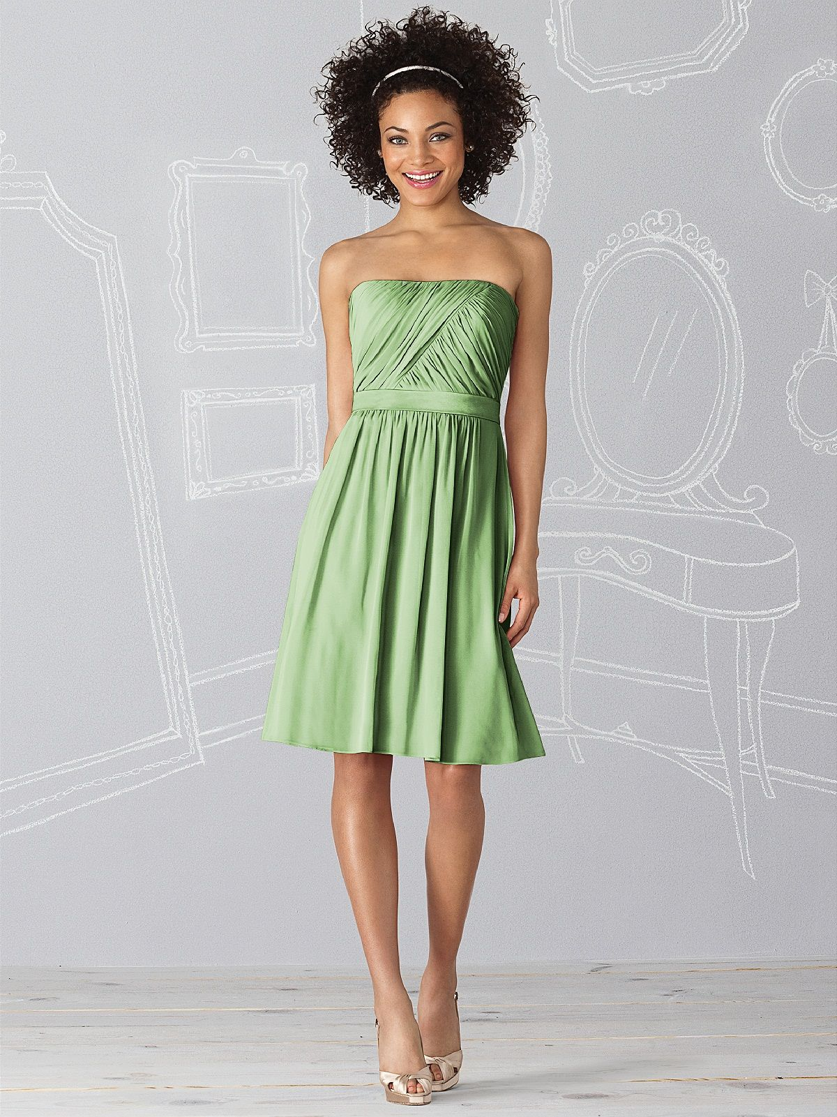 Dessy Group Color Icelandic After Six Bridesmaid Dress 6620