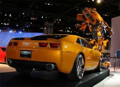 Transformers Bumblebee Camaro  Movie  Transformers  Film Autos
