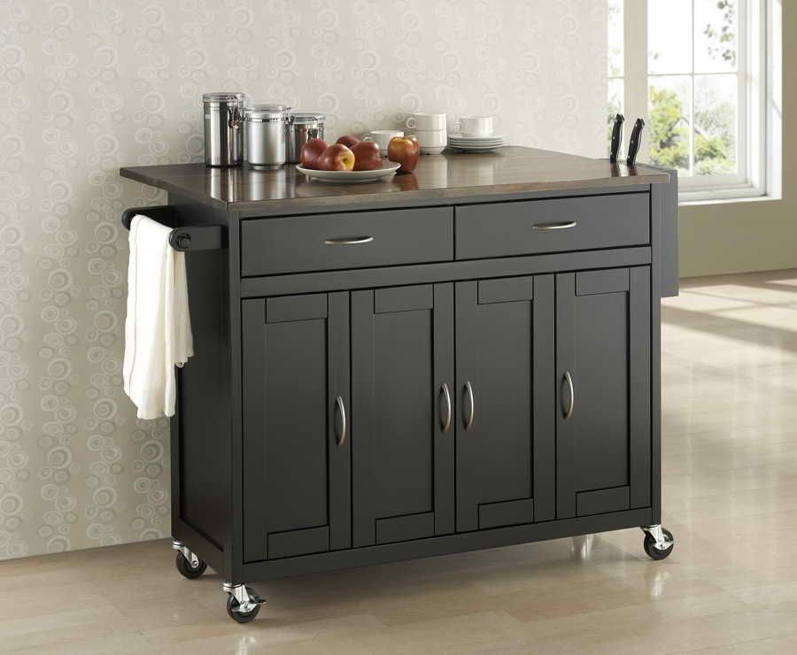 Lynx Serve and Prep Countertop on Mobile Kitchen Cart