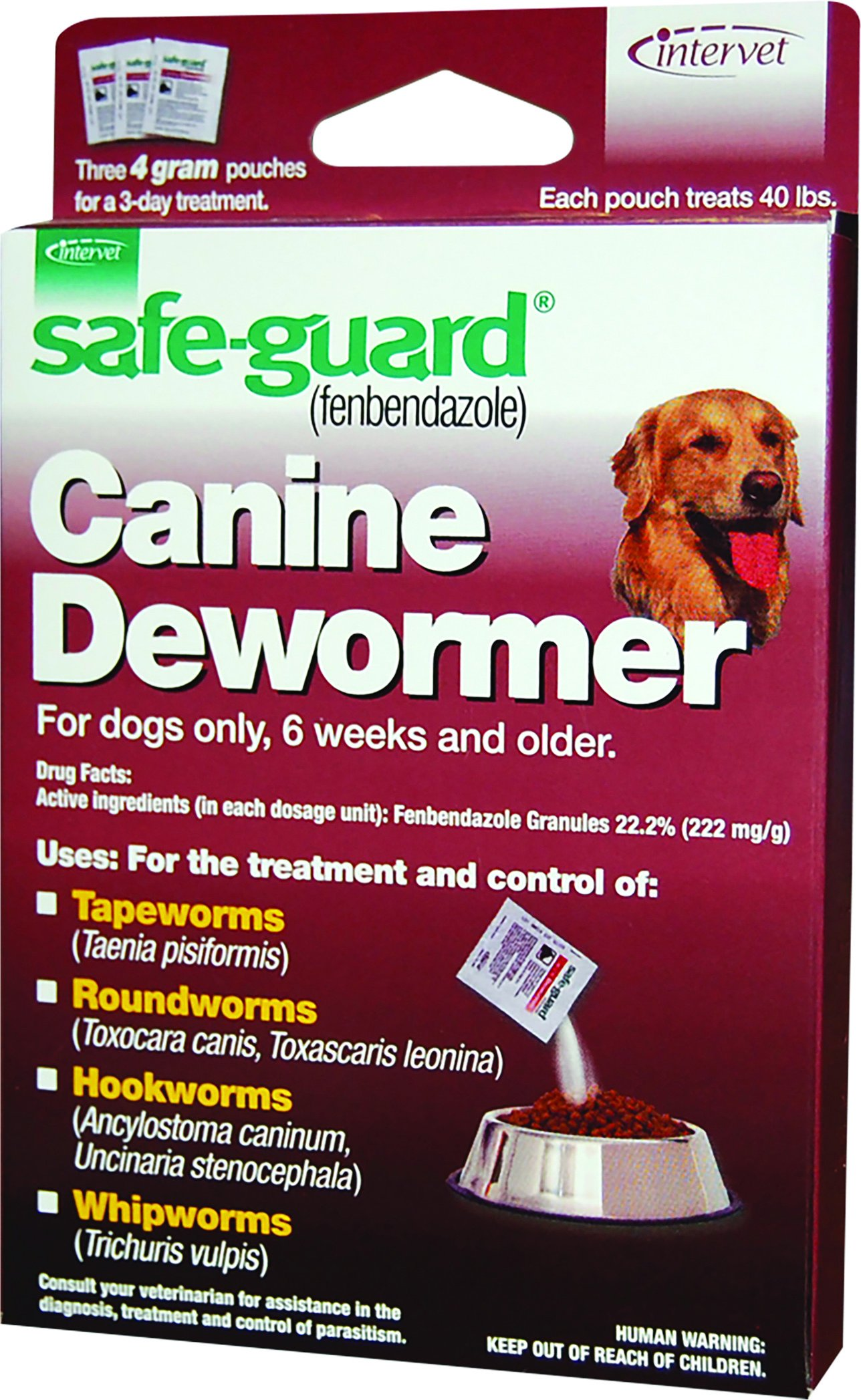 Safeguard Dog Dewormer (With images) Deworming dogs, Pet